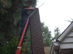 Chimney sweep - McMinnville