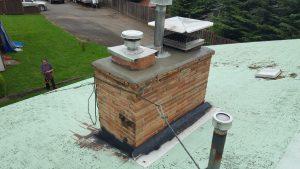 rain cap repair